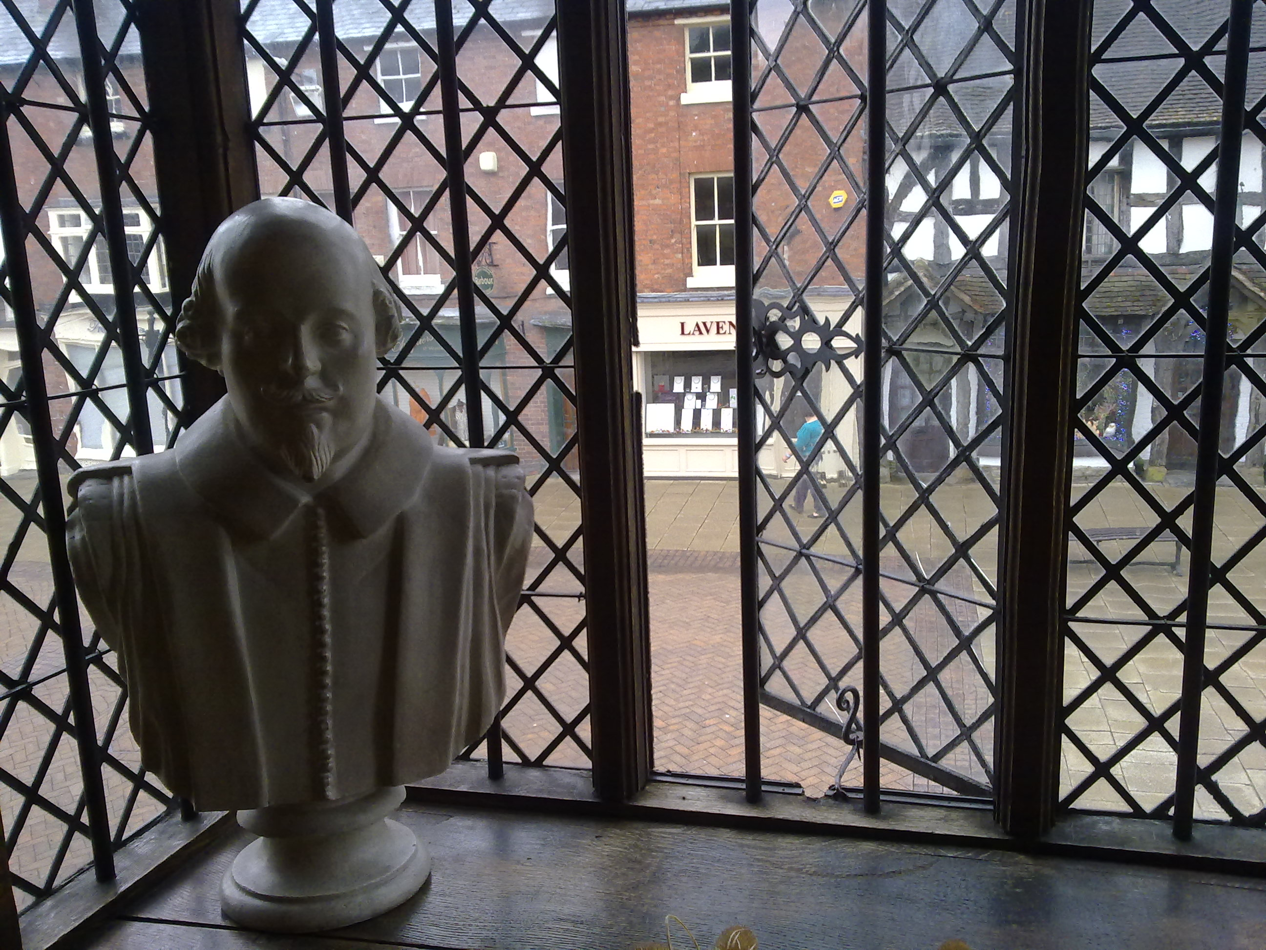 FileView From Shakespeares Birthplace Stratford Upon Avon