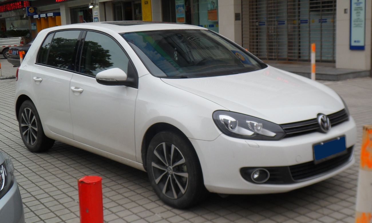 Golf Gti Wiki >> File:Volkswagen Golf VI China 2012-05-20.JPG - Wikimedia Commons