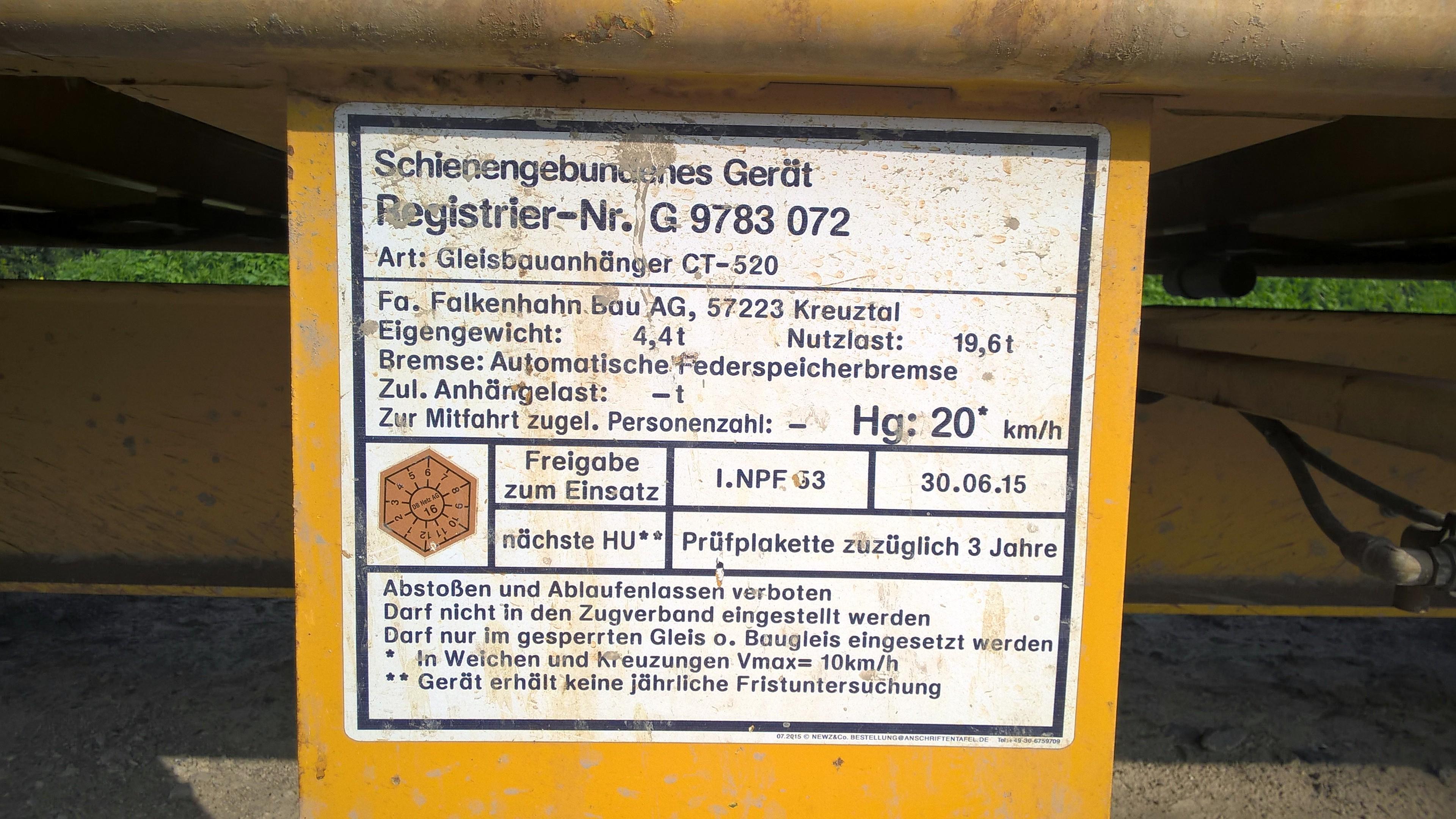 File:WP20170821c Anschriftentafel Gleisbauanhänger CT-520.jpg ...