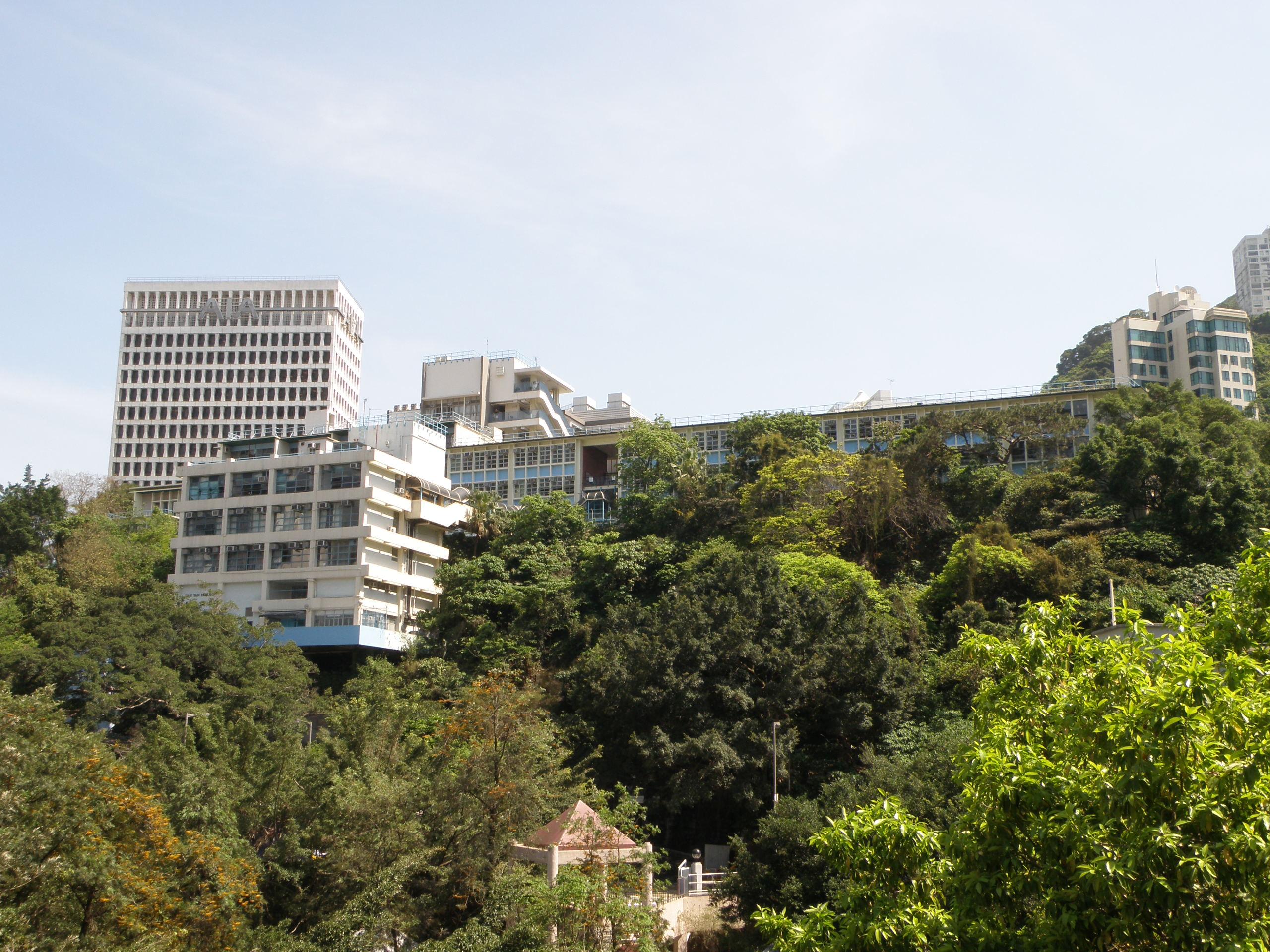 香港華仁書院是灣仔區歷史悠久的名校