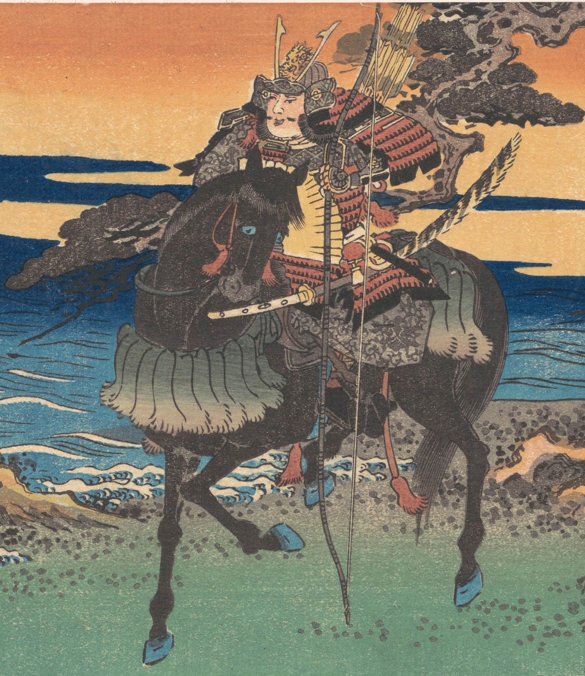 File Warrior Riding Black Horse 1835 Art Detail From Met Dp121467 Cropped Jpg Wikimedia Commons