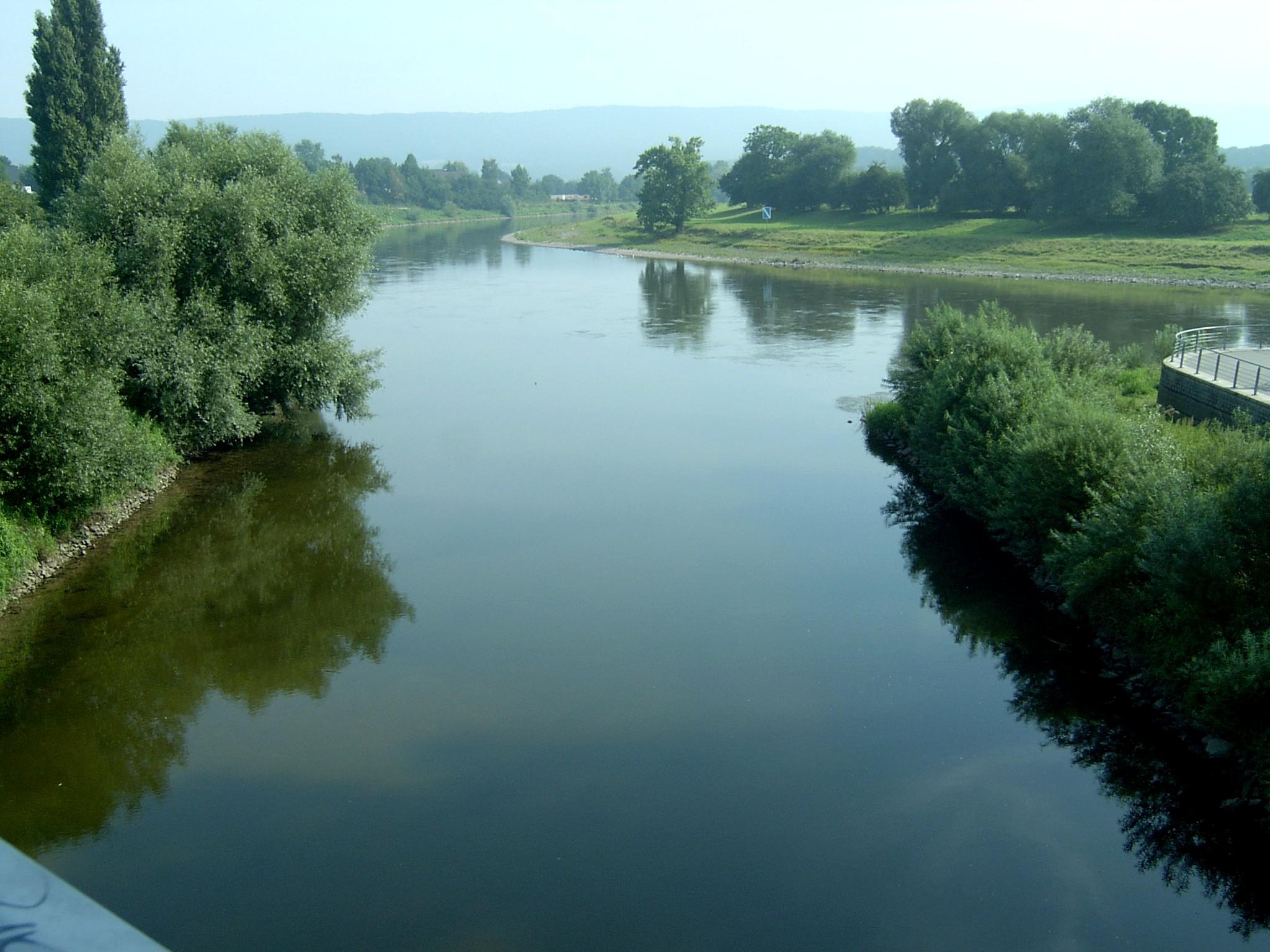 Mündung Werre Weser