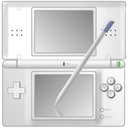 File White Nintendo Ds With Pen Icon Png Wikimedia Commons