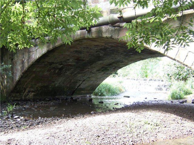 Widened Bridge over the Churnet in Oakamoor - geograph.org.uk - 485504