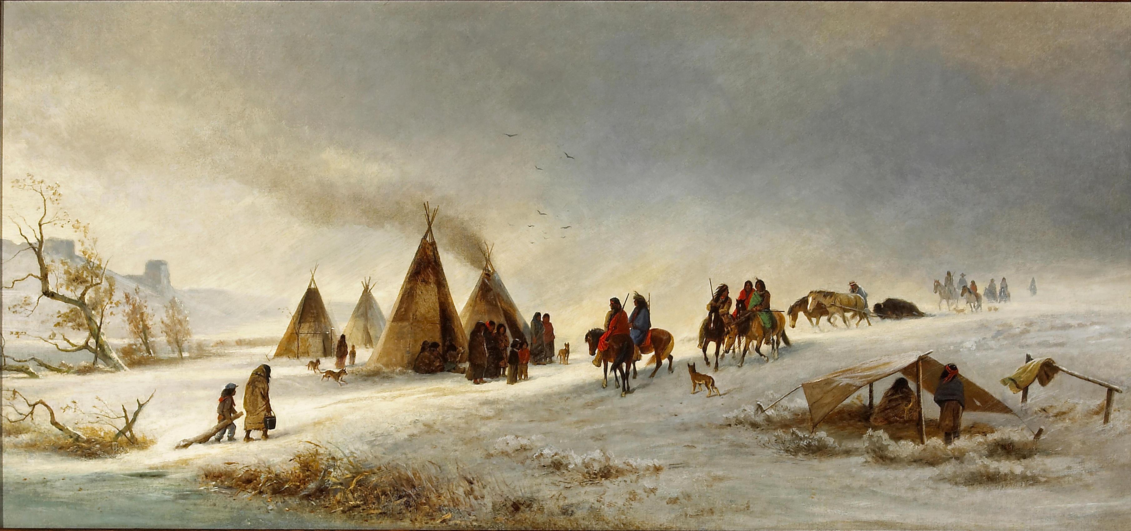 American West Oil Paintings