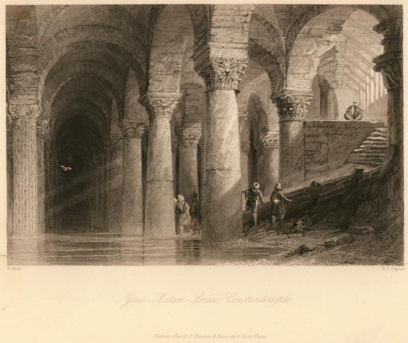 Йере-Батан Сарай, Константинополь - Уолш Роберт и Аллом Томас - 1836.jpg