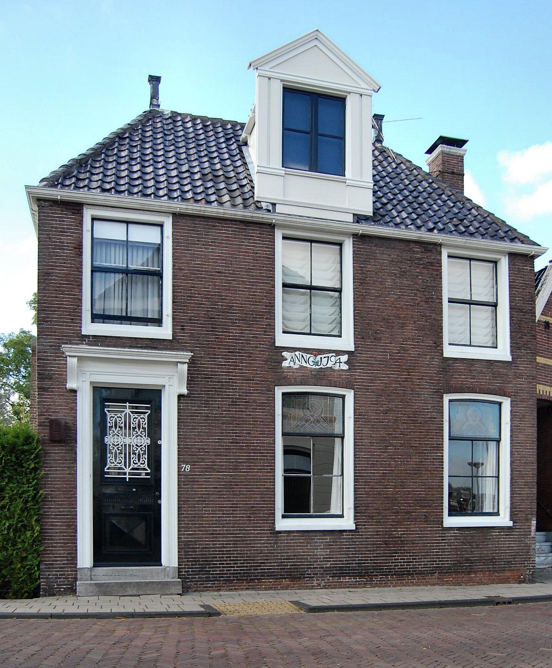 Het blauwe huis' in Zaandam | Monument - Rijksmonumenten.nl: rijksmonumenten.nl/monument/40038/het-blauwe-huis/zaandam