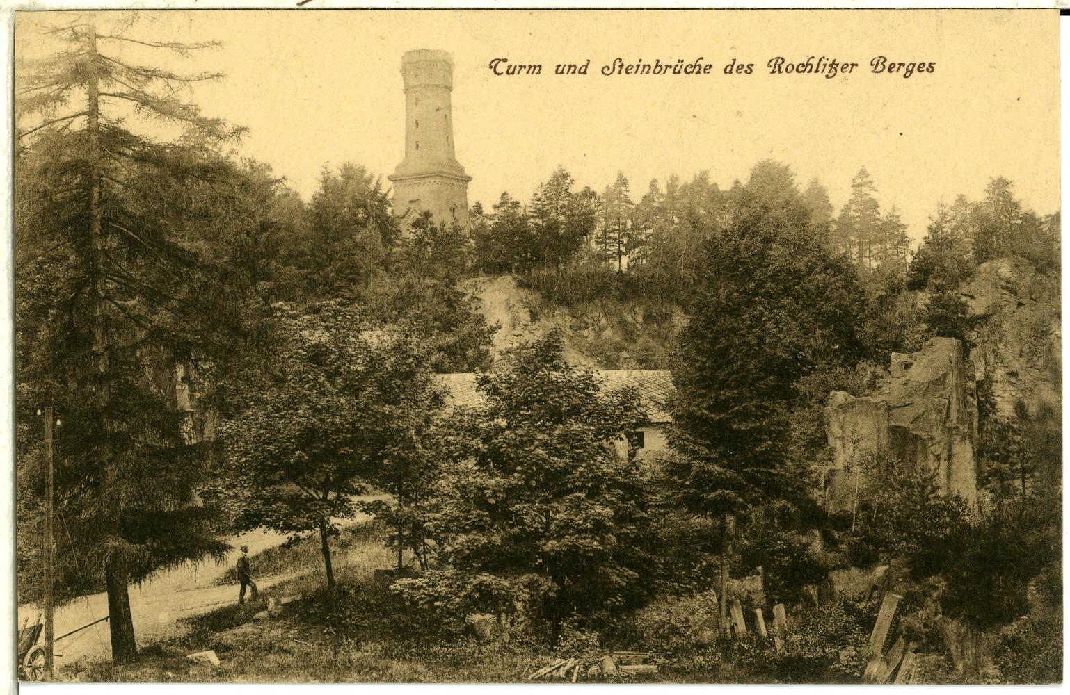 File:01192 Rochlitz 1899 Turm Und Steinbrüche Des Rochlitzer Berges Brück