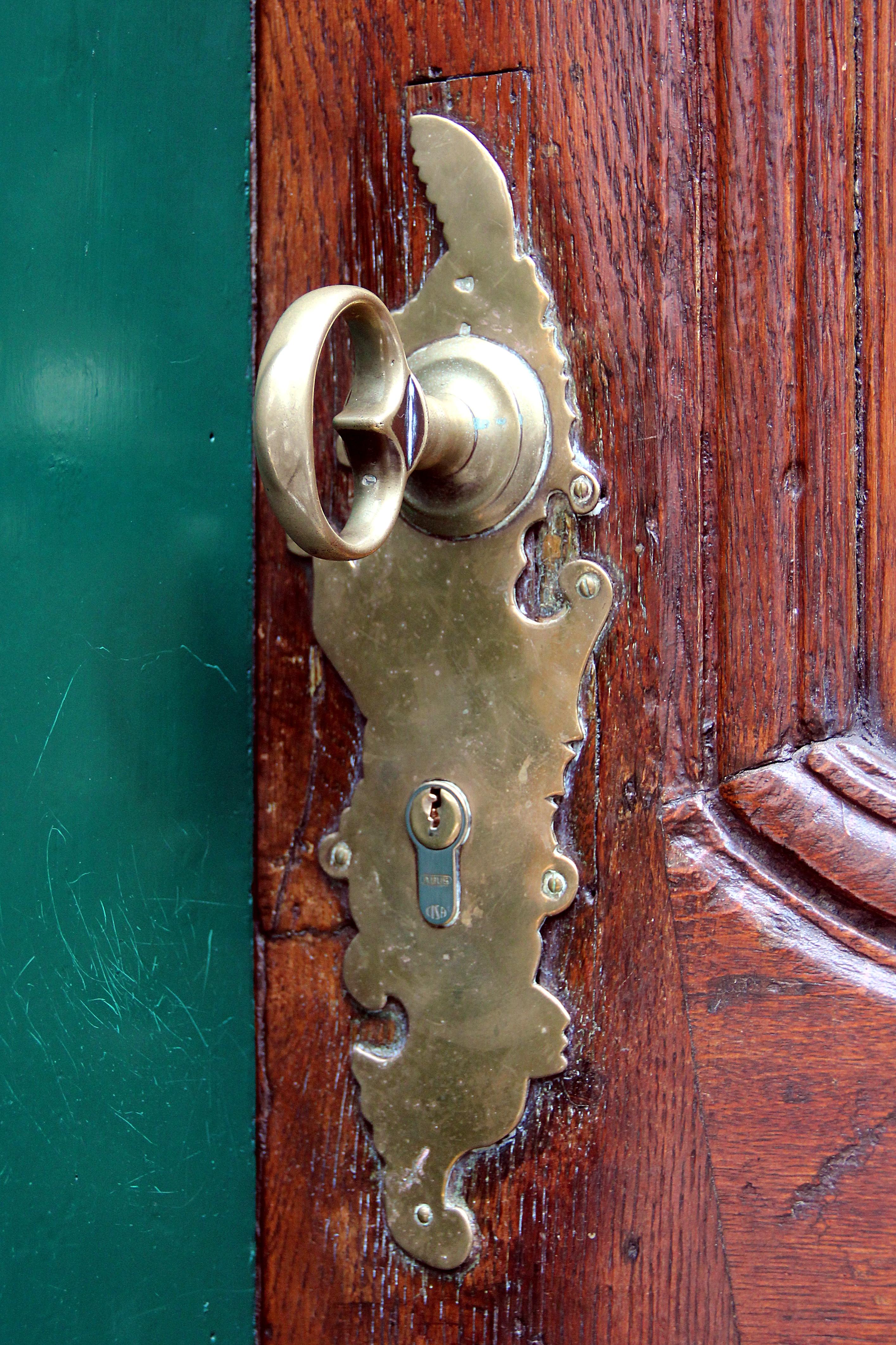 file 0 monschau stehlings 8 poign 233 e de porte et serrure en laiton jpg wikimedia commons