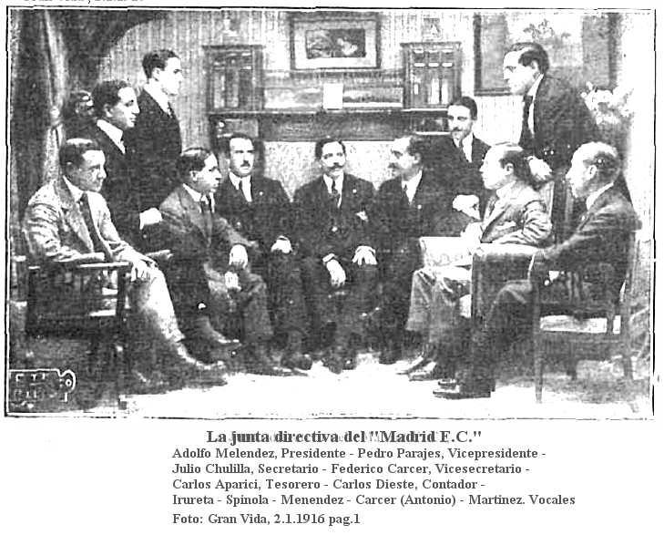 Llista de presidents del Real Madrid Club de Fútbol - Viquipèdia, l'enciclopèdia lliure