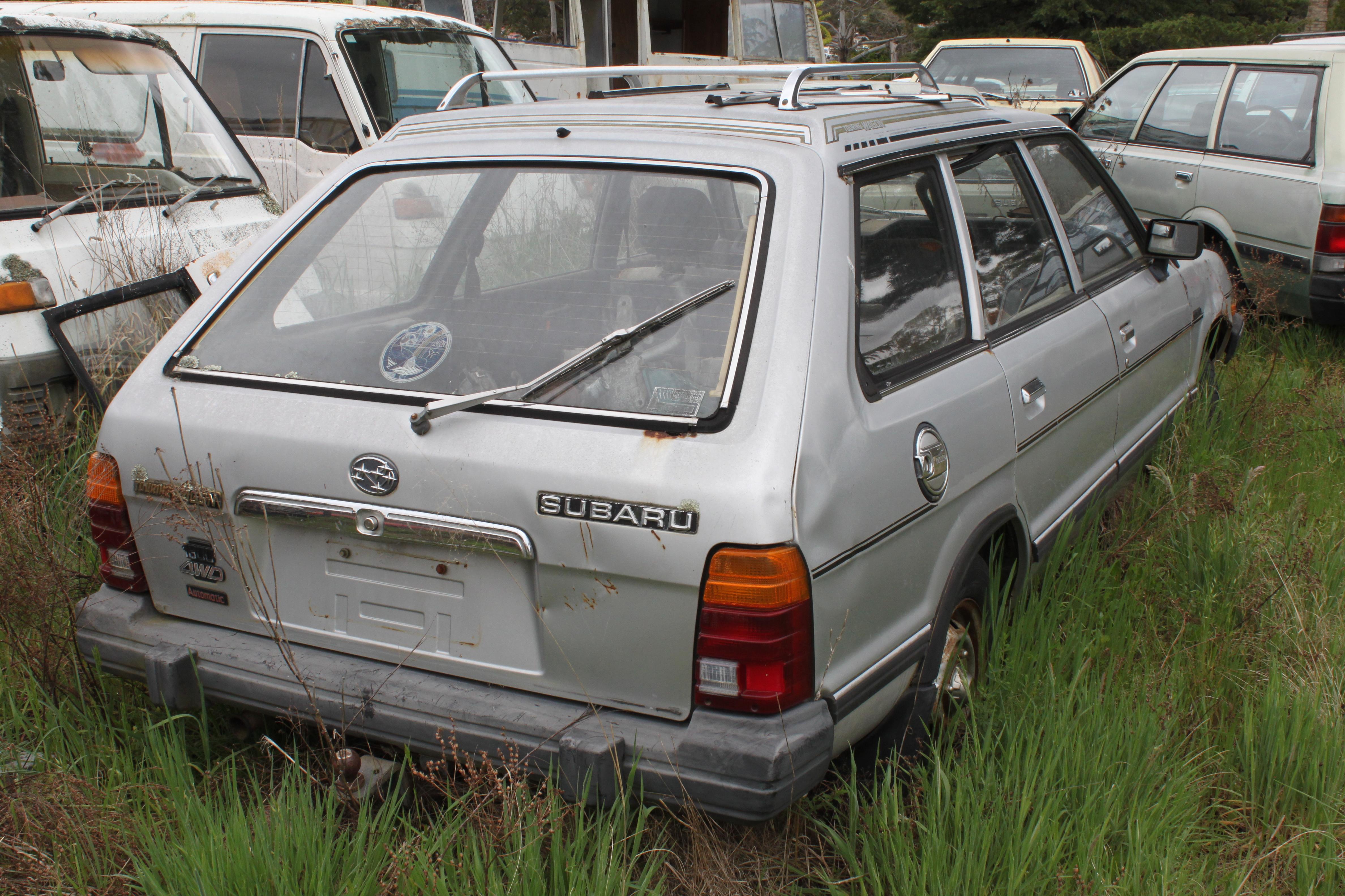 Subaru 4wd wagon