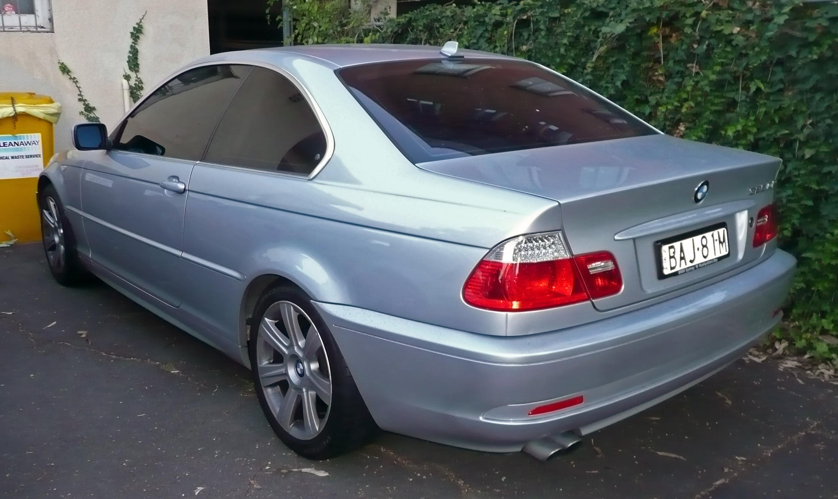 File 2003 2006 Bmw 325ci E46 Coupe 01 Jpg Wikimedia Commons