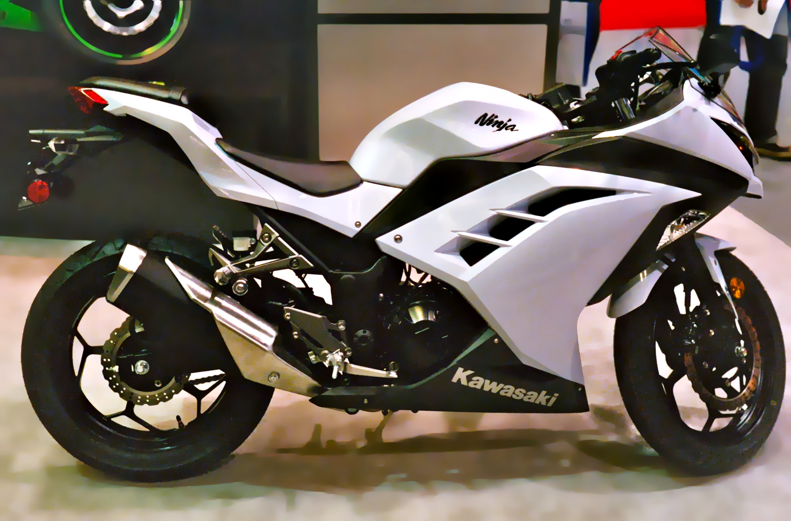 Kawasaki 2013_Kawasaki_Ninja_300_Seattle_Motorcycle_Show