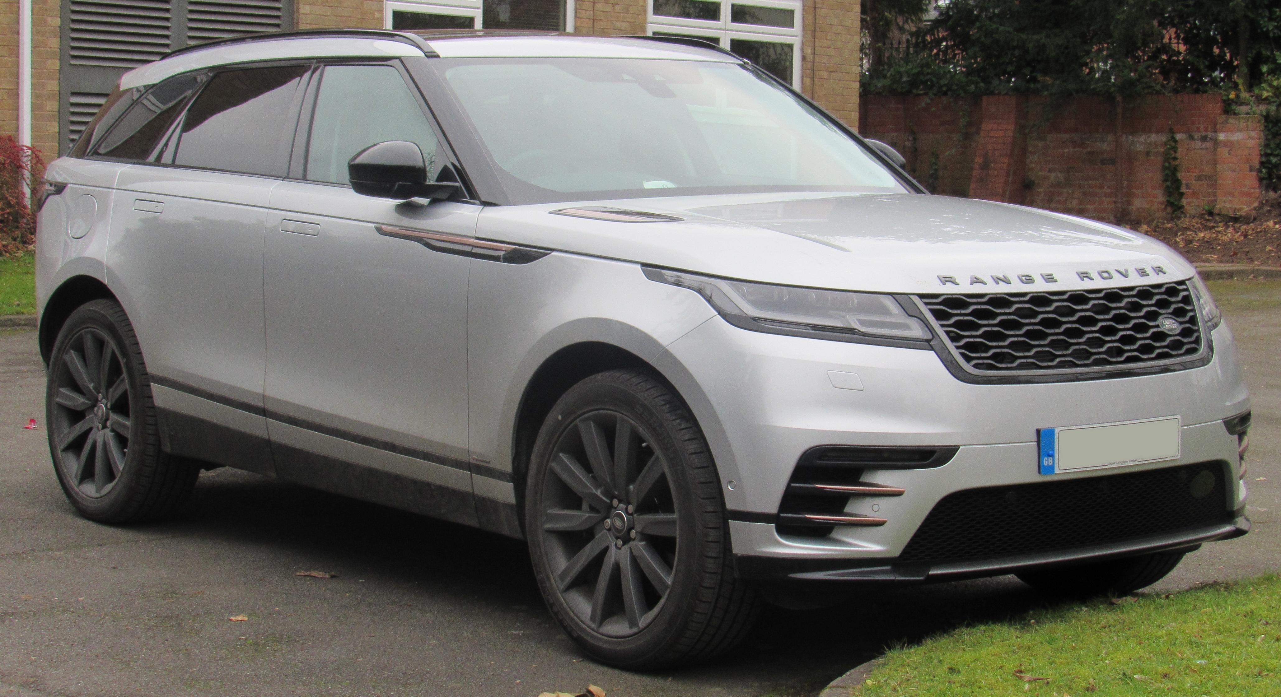 Silver Land Rover