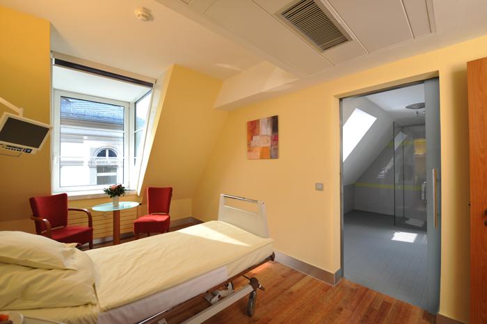 Krankenzimmer zu Hause