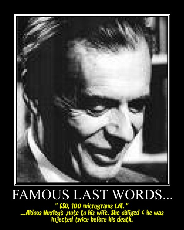 aldous huxley essayist The ucla library has acquired the literary archive of the visionary novelist and essayist aldous huxley (1894–1963) the collection contains literary materials he.
