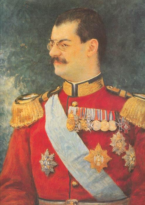 Depiction of Alejandro I de Serbia