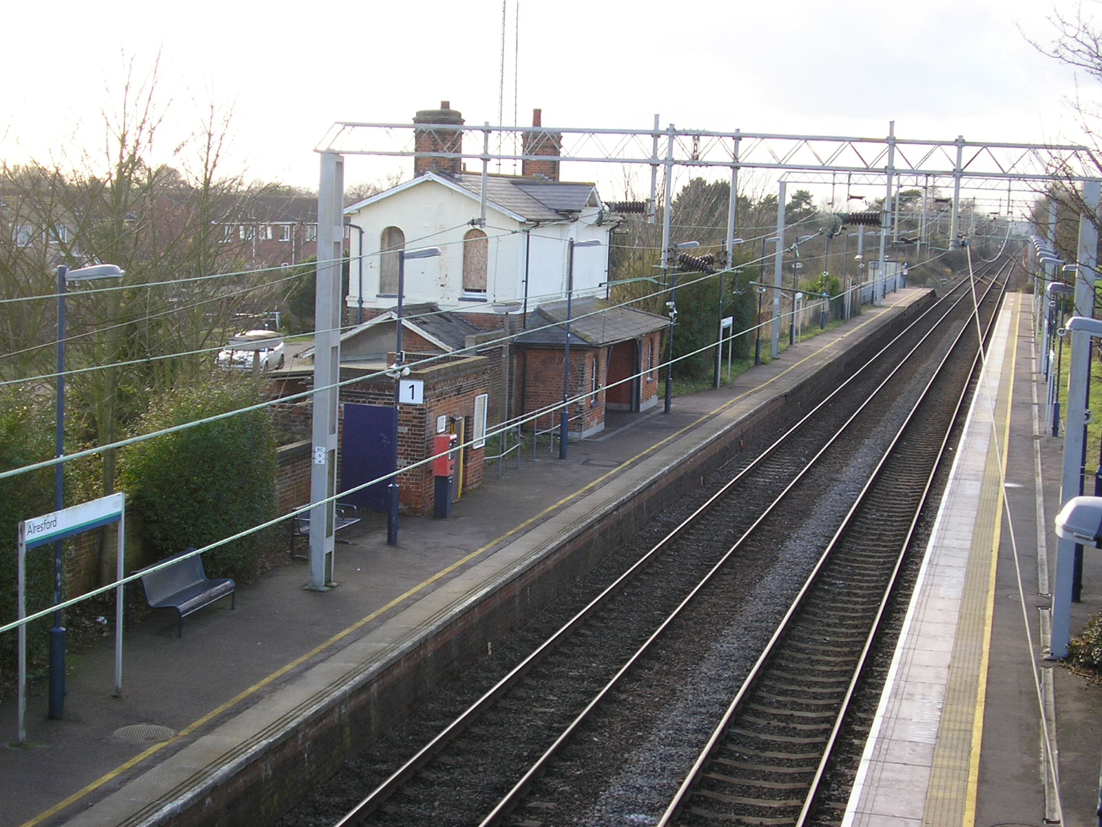 shenfield train station essex address