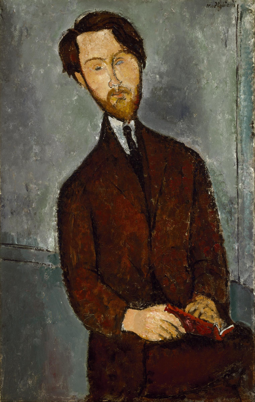 File:Amedeo Modigliani - Léopold Zborowski - Google Art Project.jpg -  Wikimedia Commons