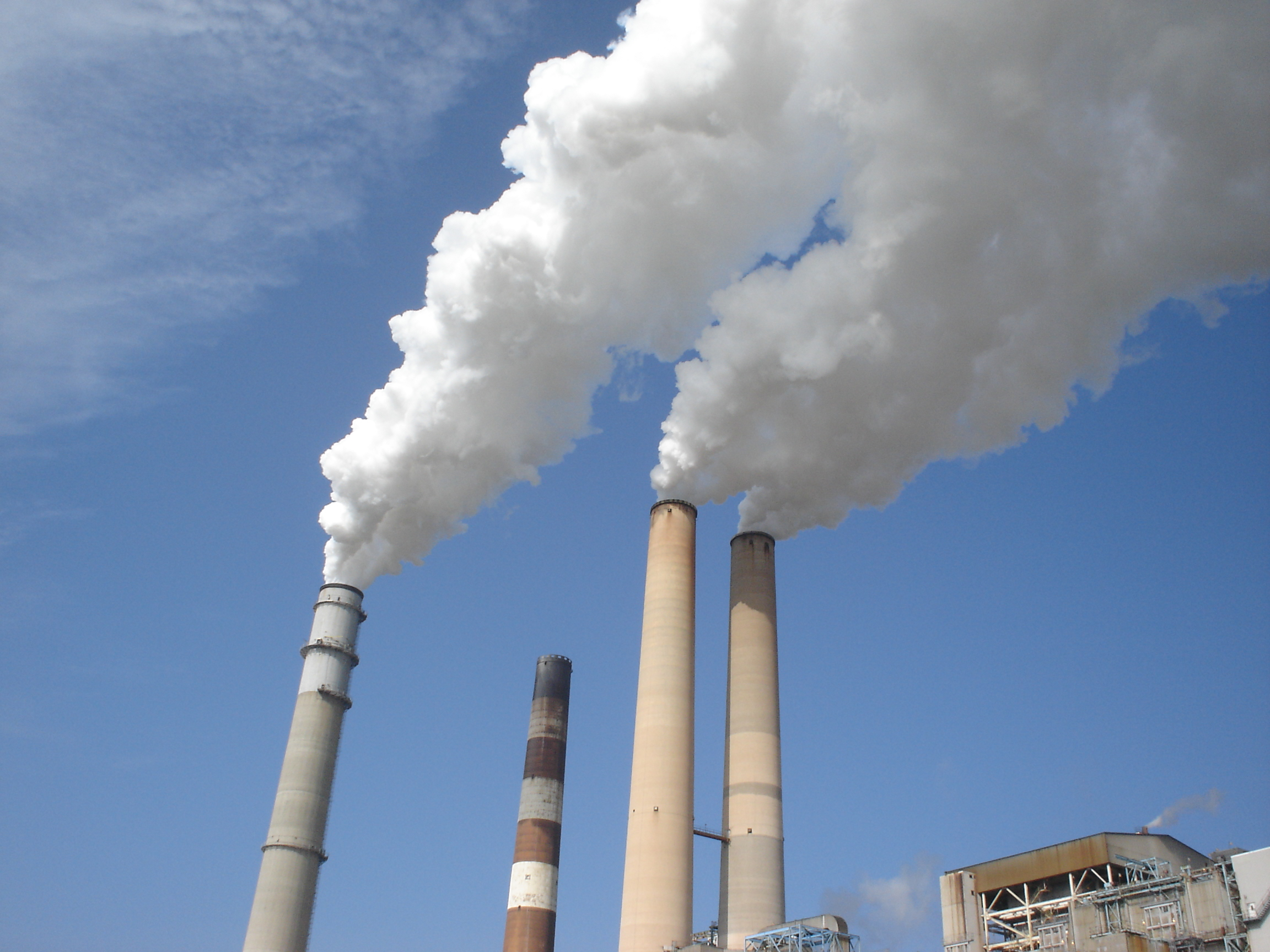 Solving the carbon emissions problem one credit at a time anonymous,Apollo Beach power plant 01432, marked as public domain, more details onWikimedia Commons