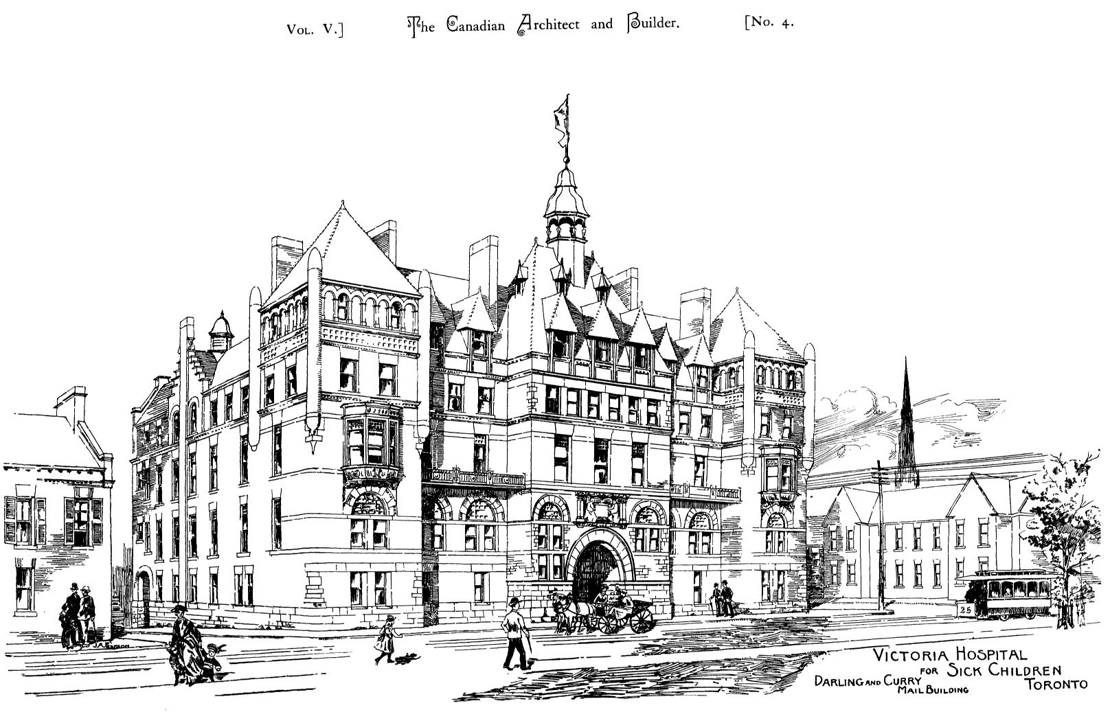 File architectural sketch of victoria hospital for sick for Architecture sketch