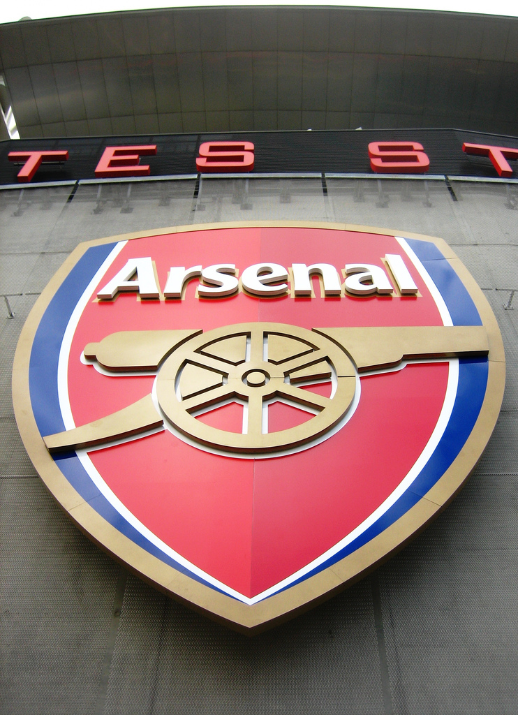 Arsenal logo at the Emirates Stadium.jpg