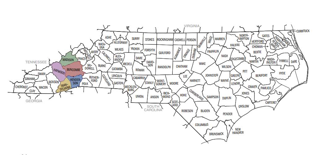 Asheville metropolitan area - Wikipedia on
