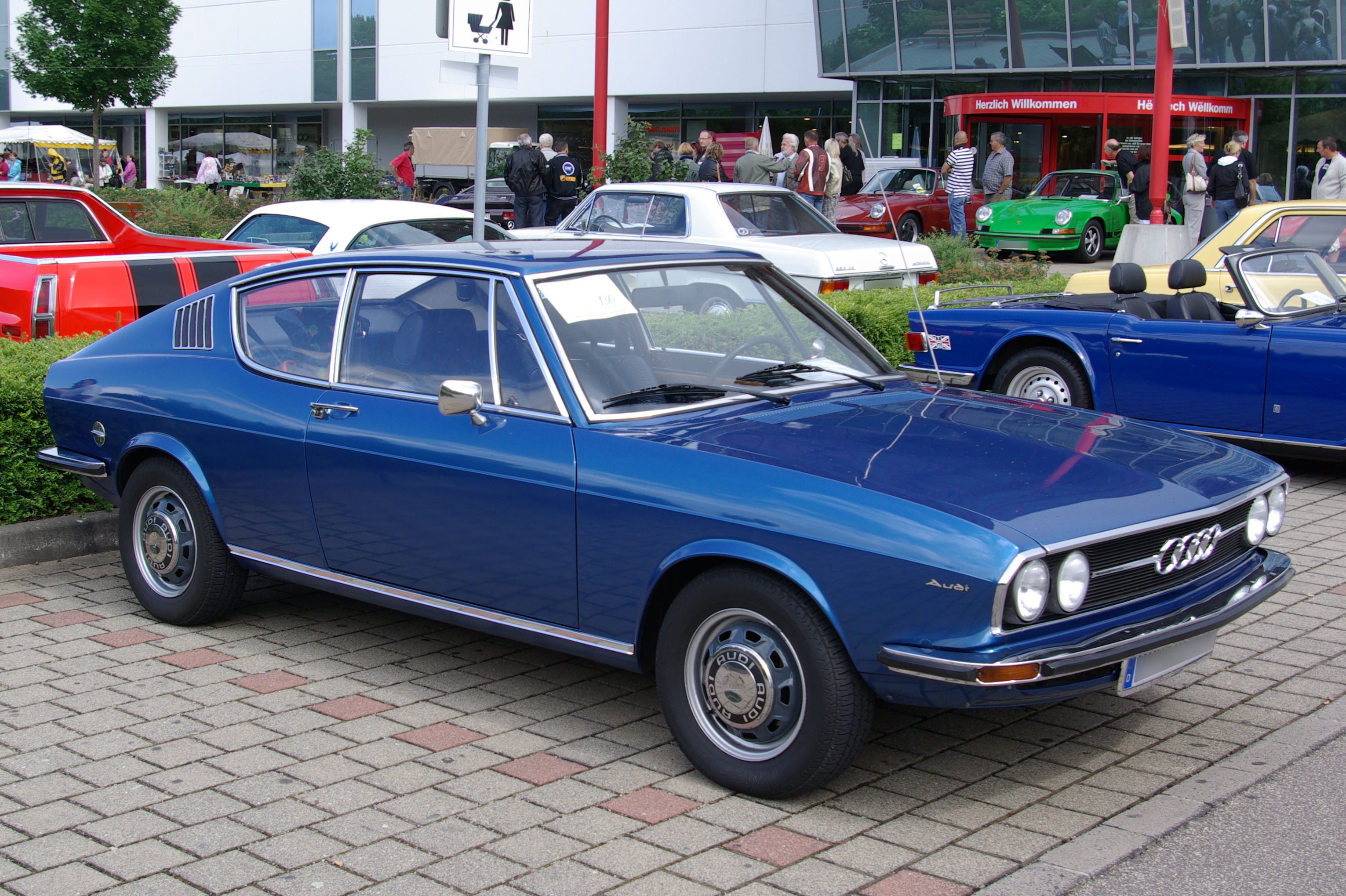 Audi 100 Coupe S Gt