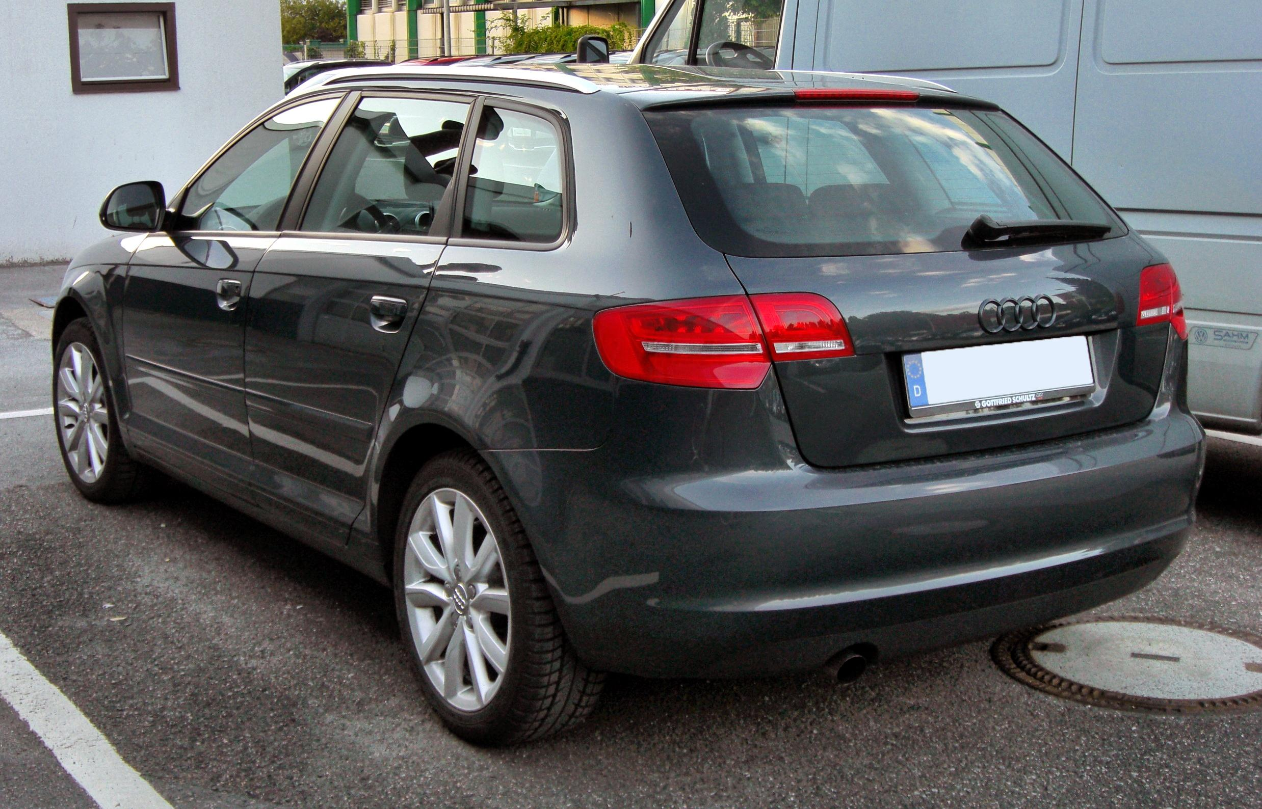 file audi a3 ii sportback facelift 20090821 rear jpg. Black Bedroom Furniture Sets. Home Design Ideas