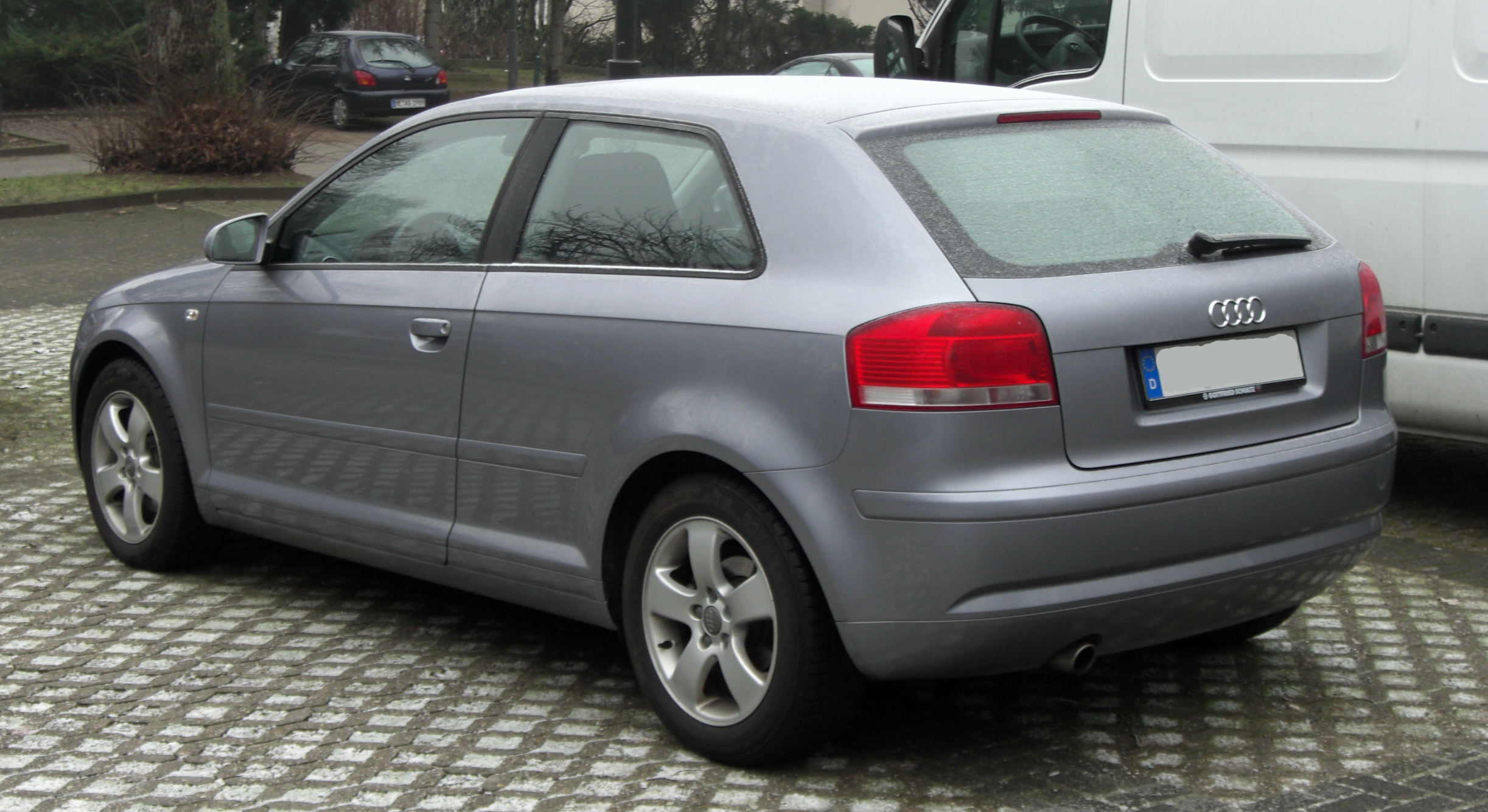 File Audi A3 Ii Rear Jpg Wikimedia Commons