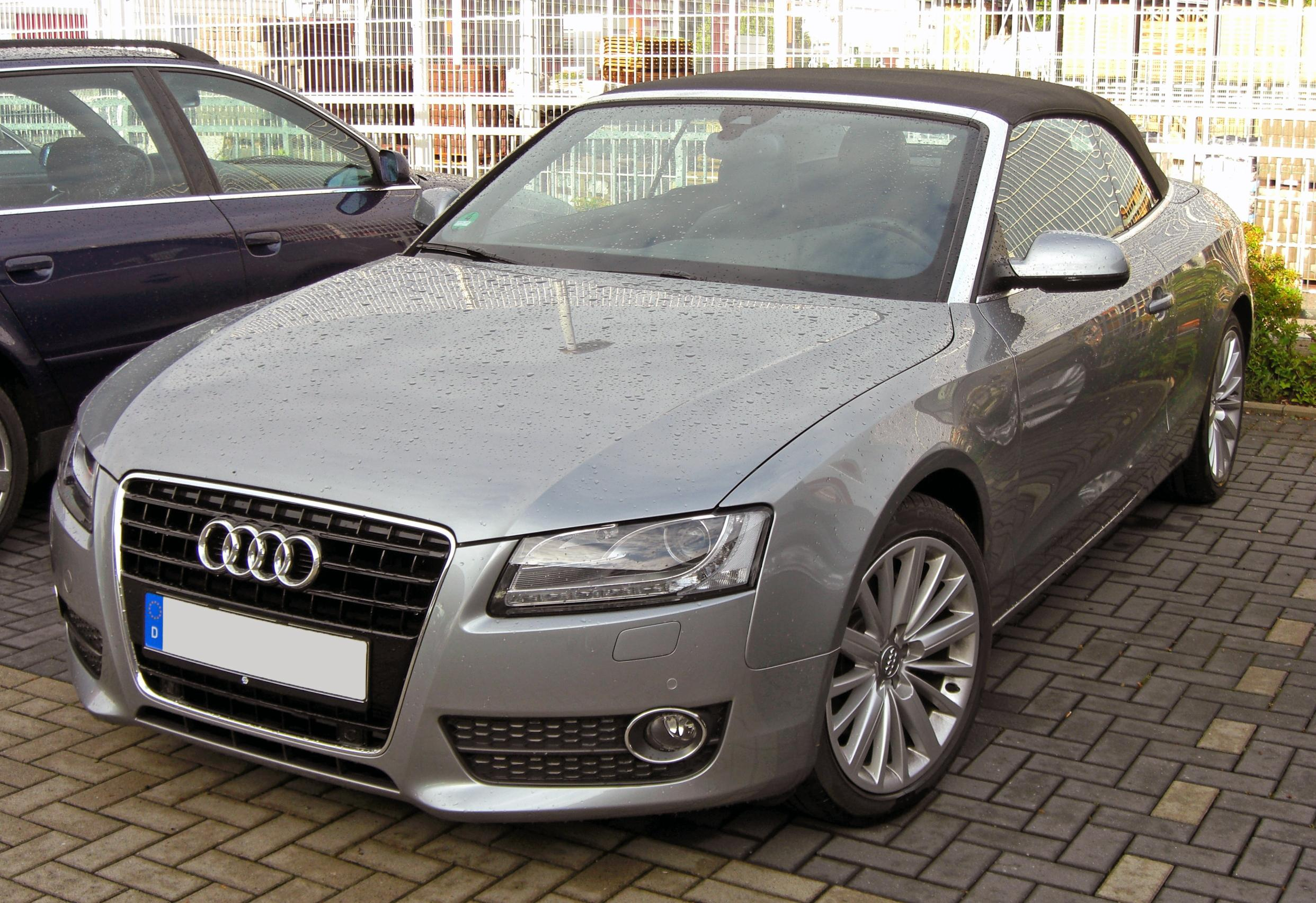 File Audi A5 Cabriolet 20090607 Front Jpg Wikimedia Commons