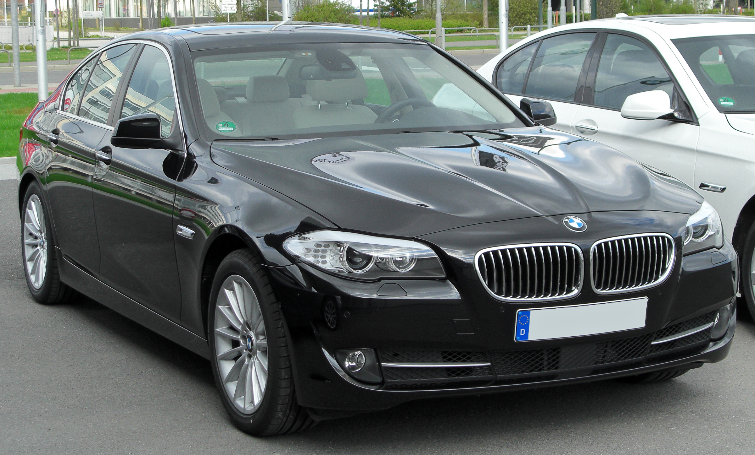 File Bmw 530d F10 Front 20100410 Jpg Wikimedia Commons