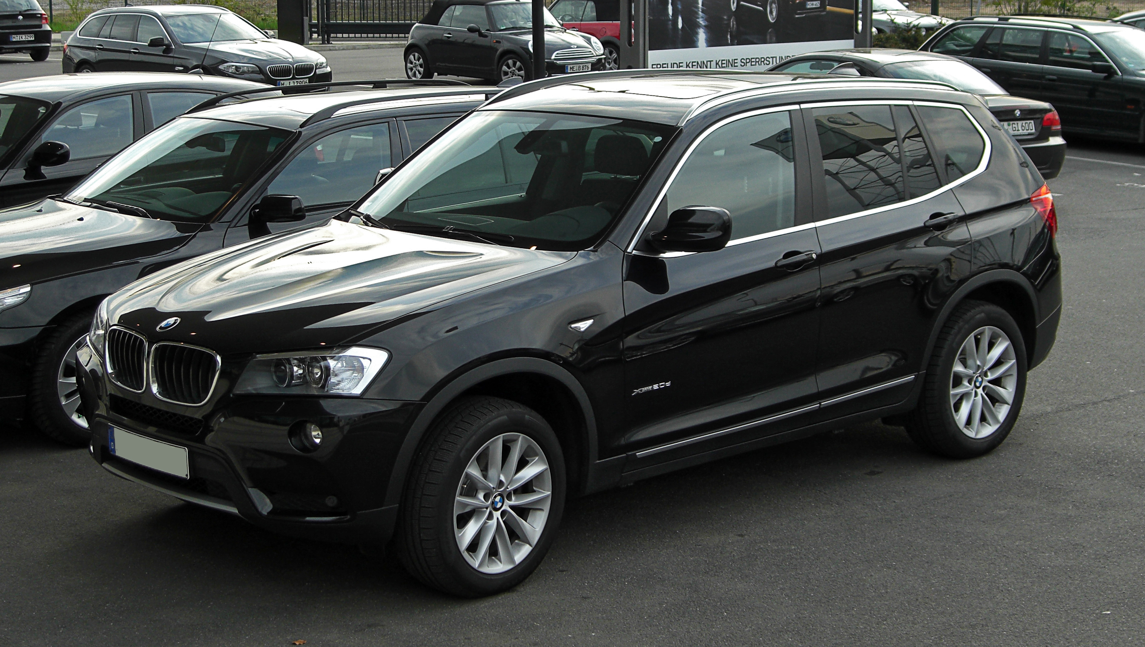 file bmw x3 xdrive20d f25 frontansicht 16 april 2011 d wikimedia commons. Black Bedroom Furniture Sets. Home Design Ideas