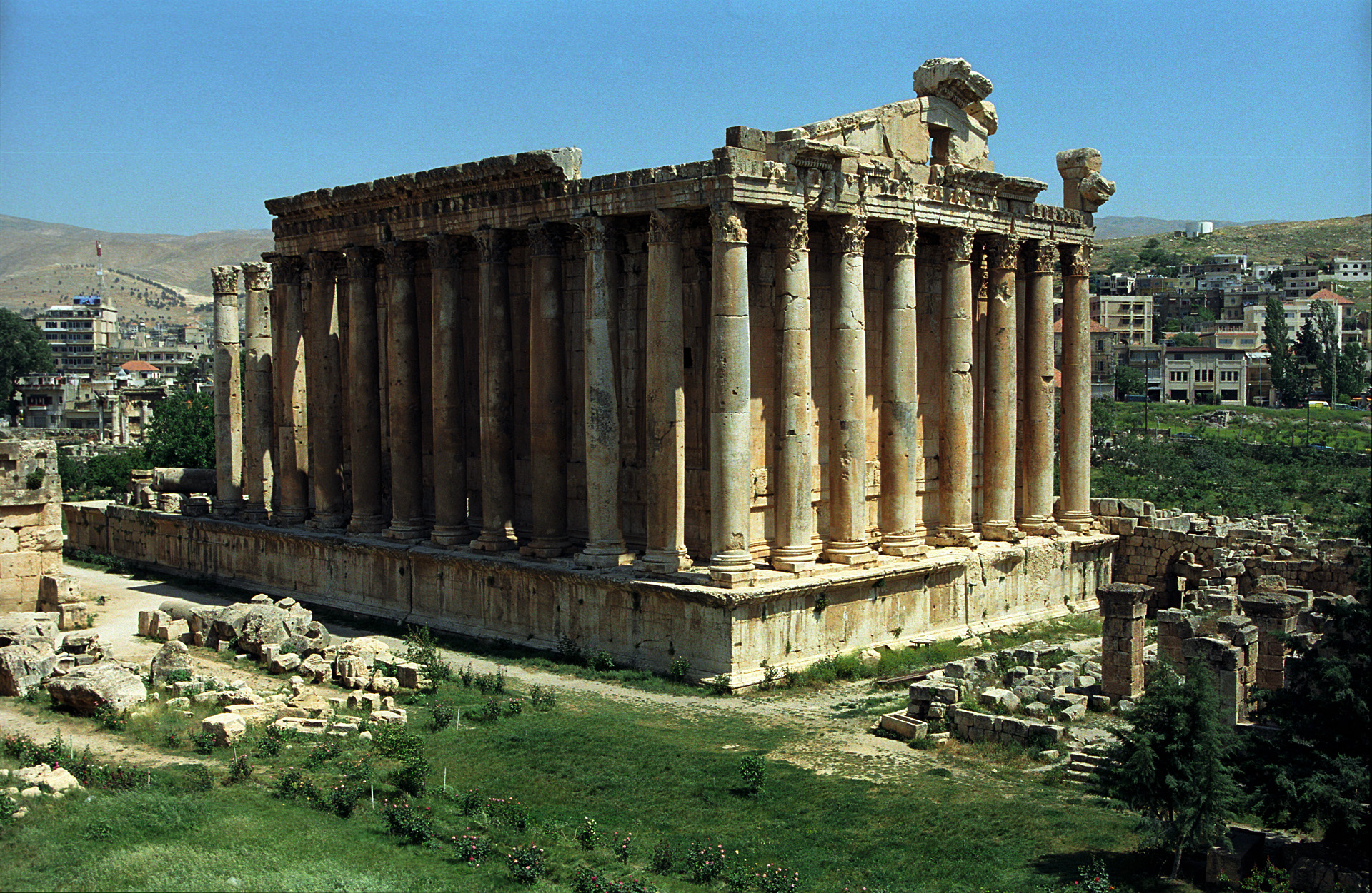 famous ancient architecture. Delighful Architecture Baalbek  Inside Famous Ancient Architecture