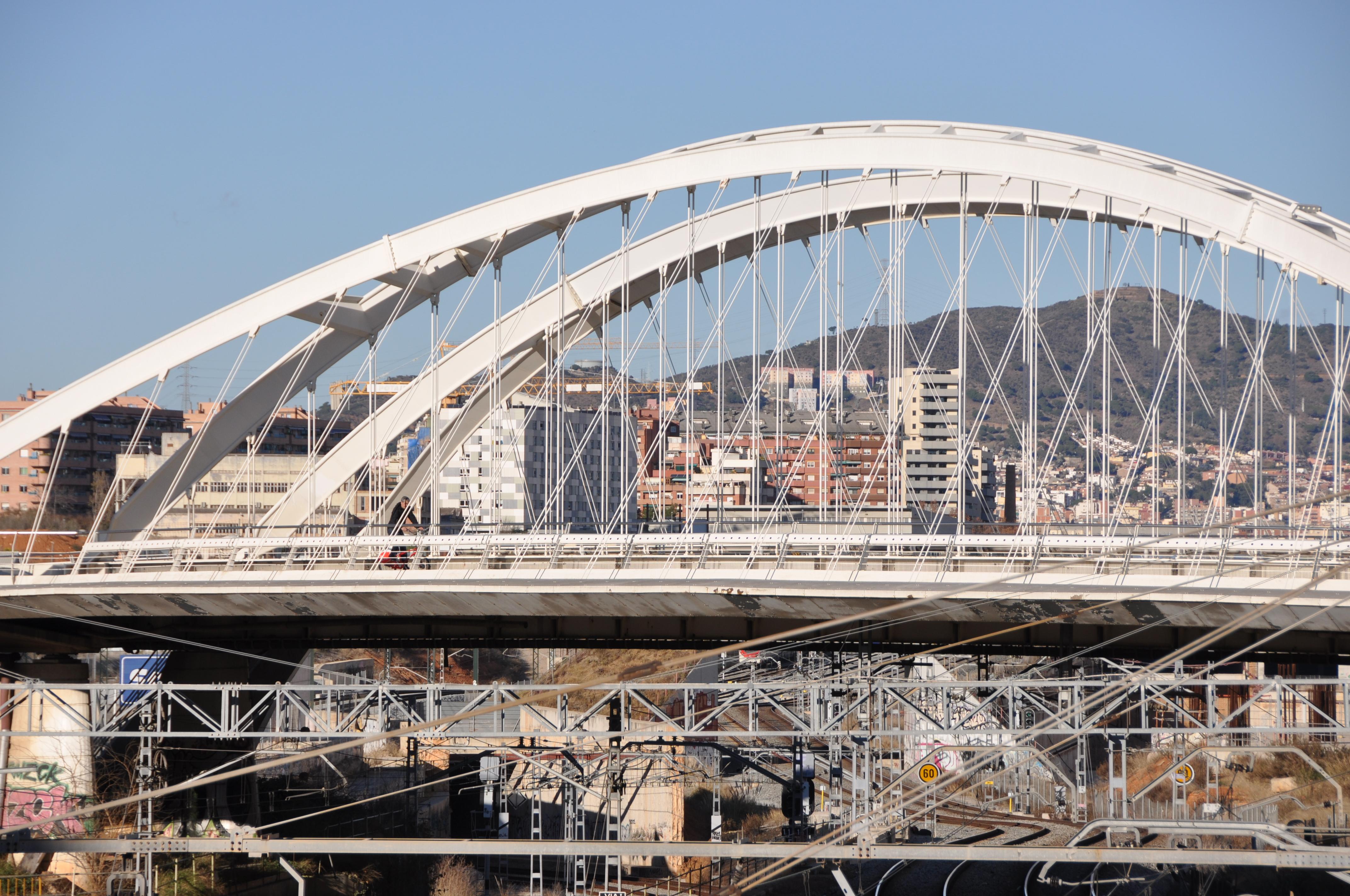 фото барселоны моста исправном задающем