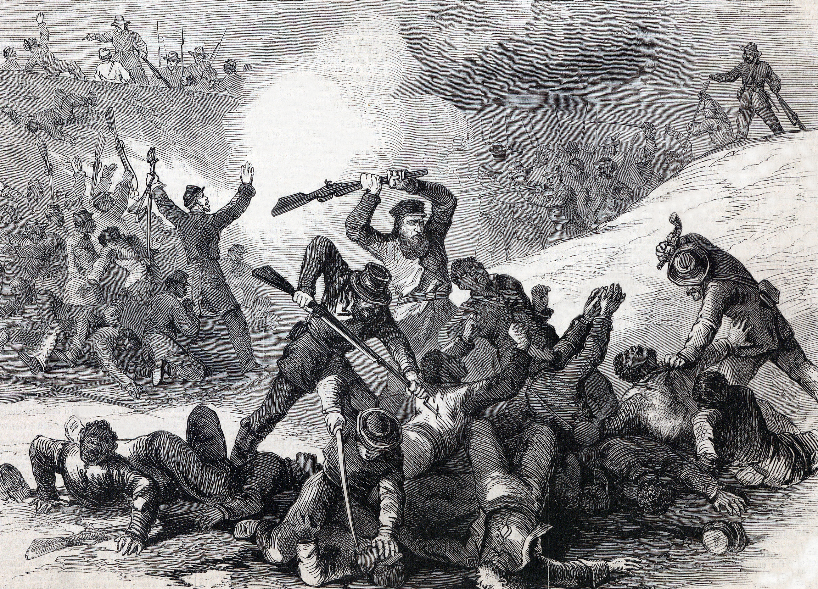 Battle and massacre at Fort Pillow