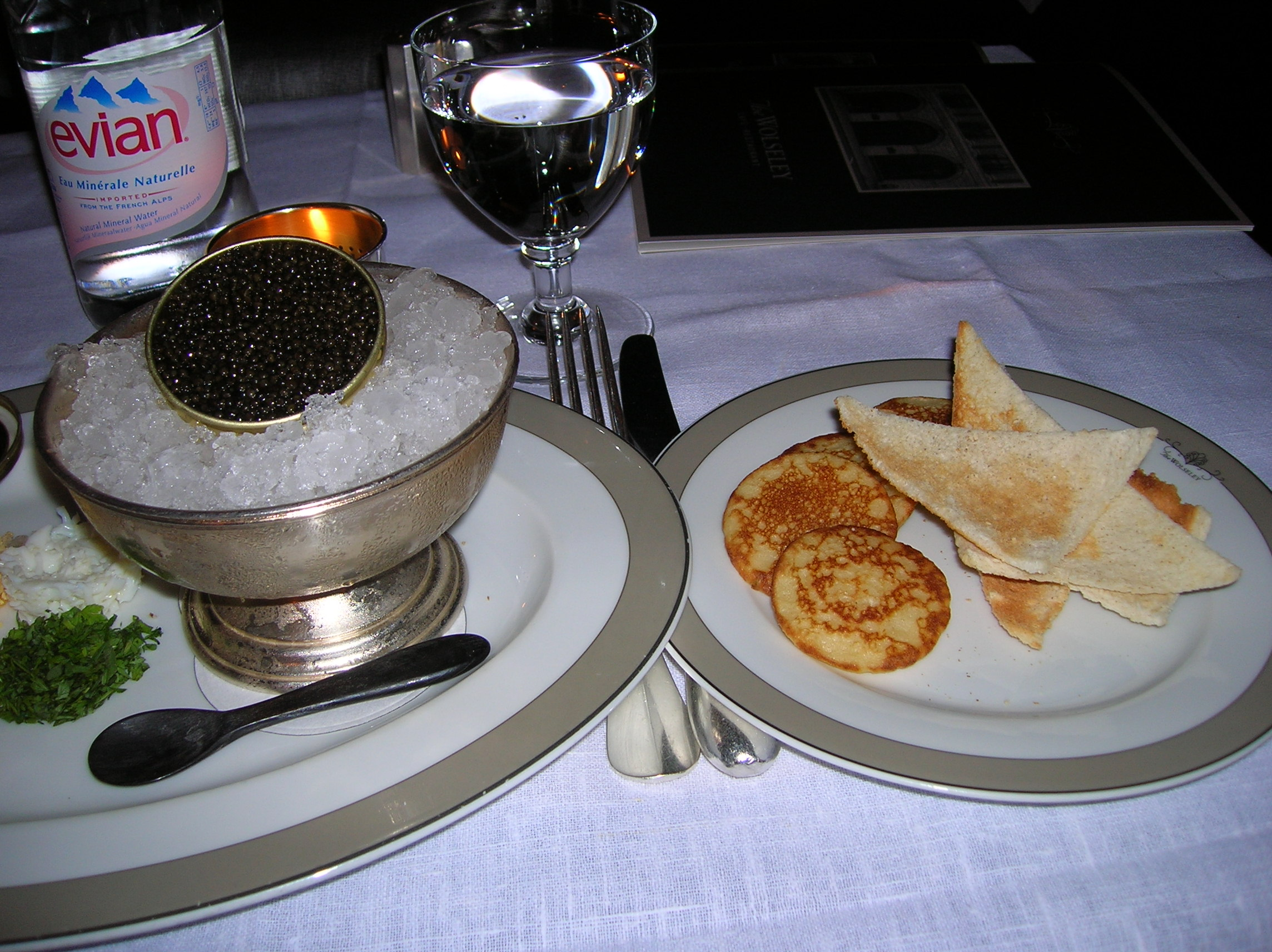 Food Served At Restaurants