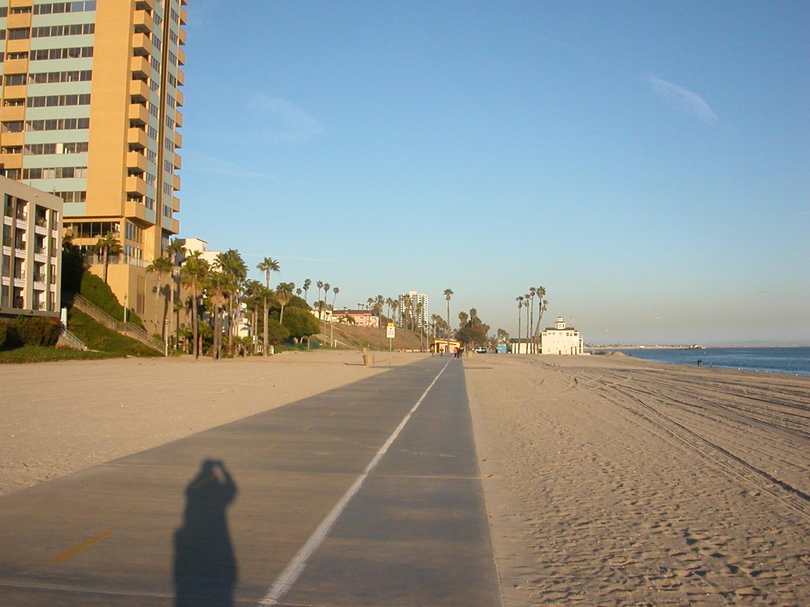 File Bike Path In Long Beach Jpg