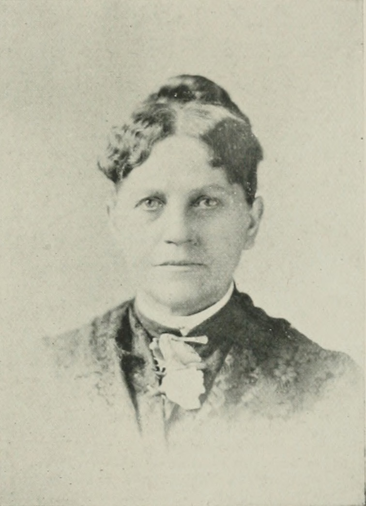 CATHERINE VAN VALKENBURG WAITE A woman of the century (page 747 crop).jpg