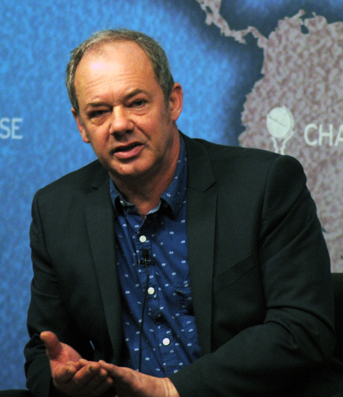 Macrae at [[Chatham House]] in 2013