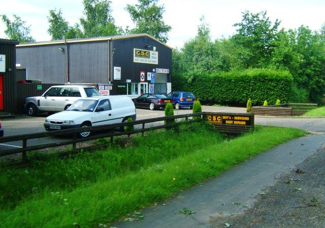 File:Car repair shop in Hardwick - geograph.org.uk - 16148.jpg