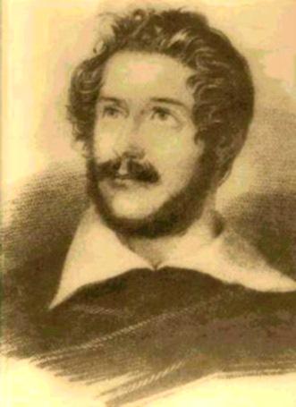 Carlo Pepoli as a young man