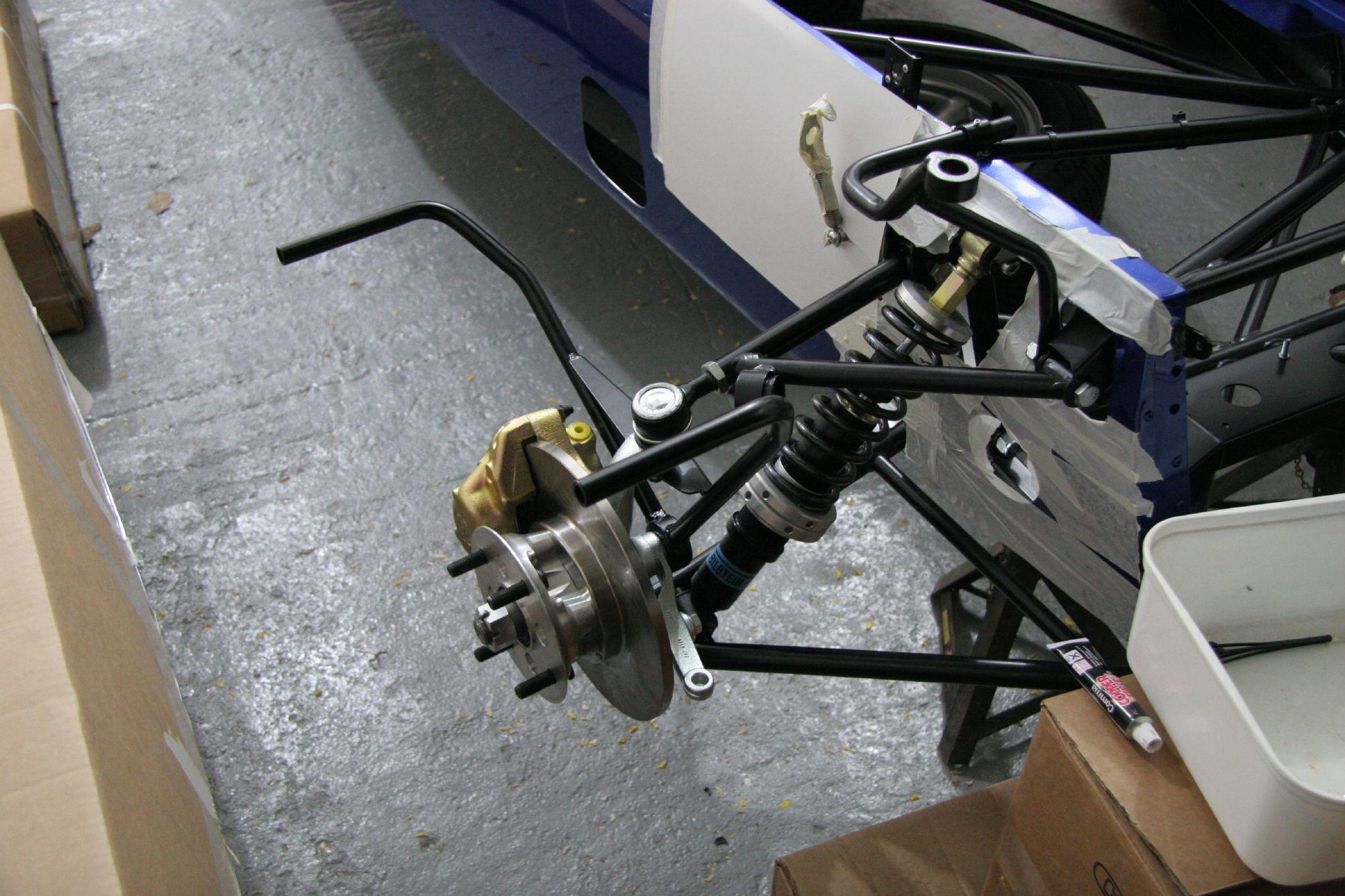 Front Engine Rear Wheel Drive Car