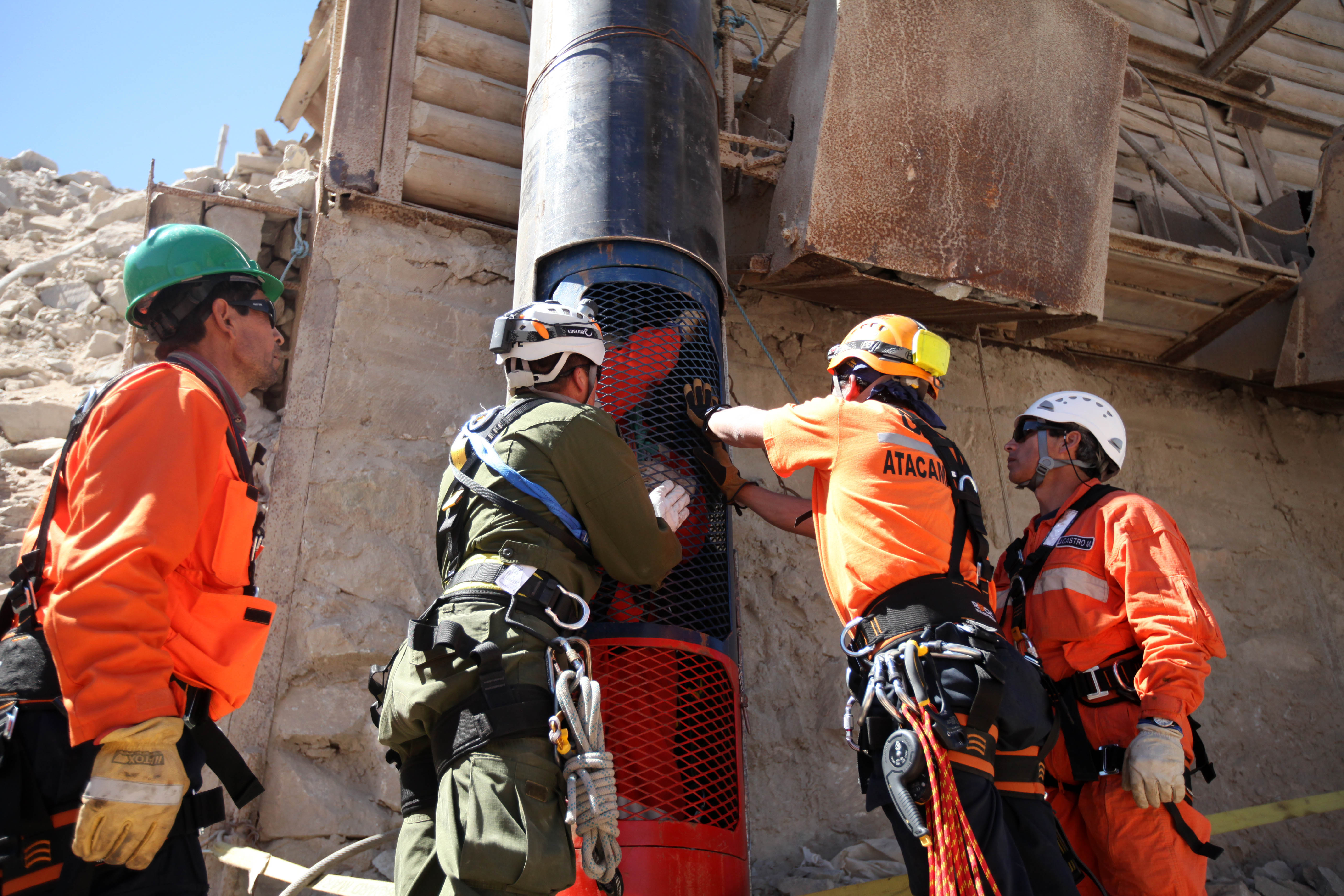 chilean miners rescue essay The men trapped in the chilean mine shaft was communication release chilean miners essay the people thought this was unjust and failed to realize what rescue.