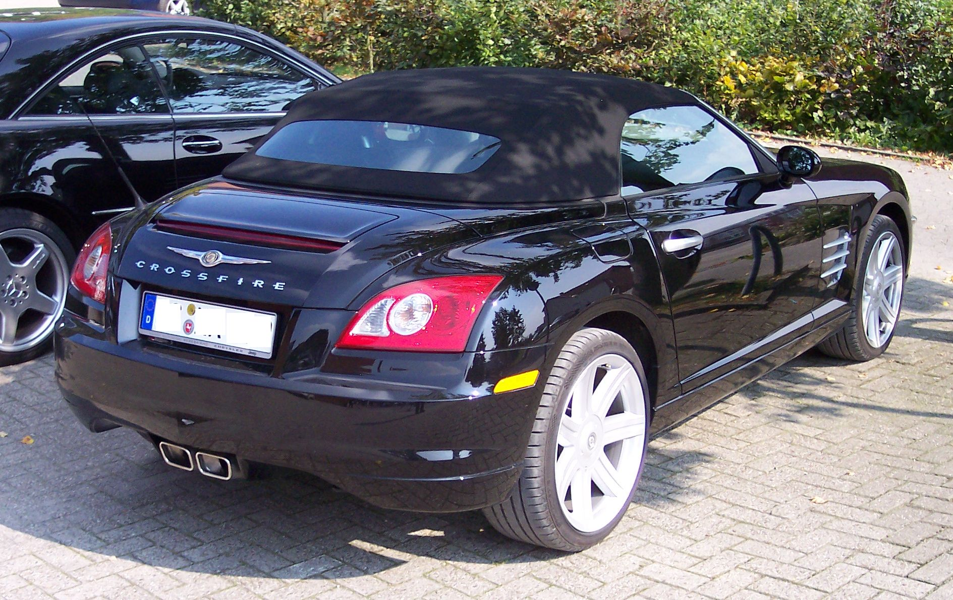 file chrysler crossfire cabrio black. Black Bedroom Furniture Sets. Home Design Ideas