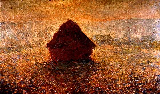Claude Monet, Haystacks on a Foggy Morning, 1891, Oil on canvas.jpg