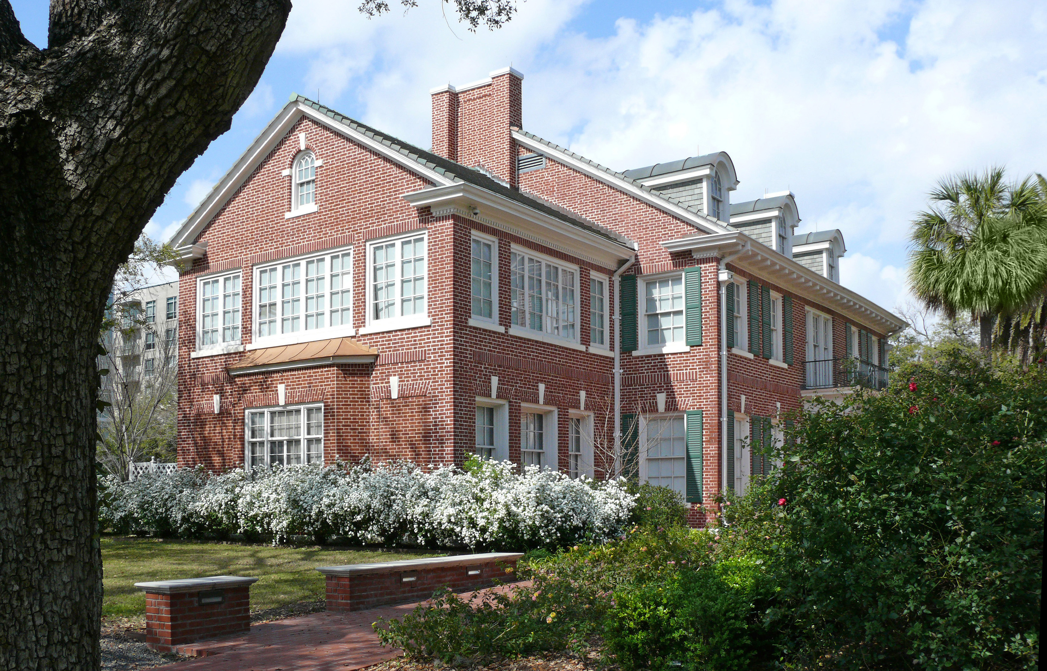 attractive clayton house #4: File:Clayton House Houstonu0027s Genealogy Library.jpg