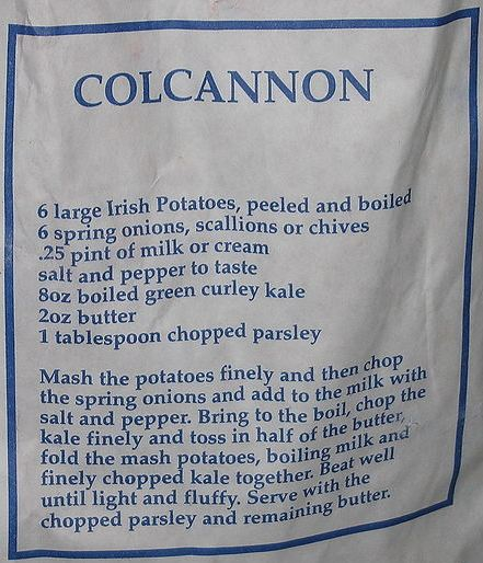 File:Colcannon recipe on bag of potatoes (cropped).jpg