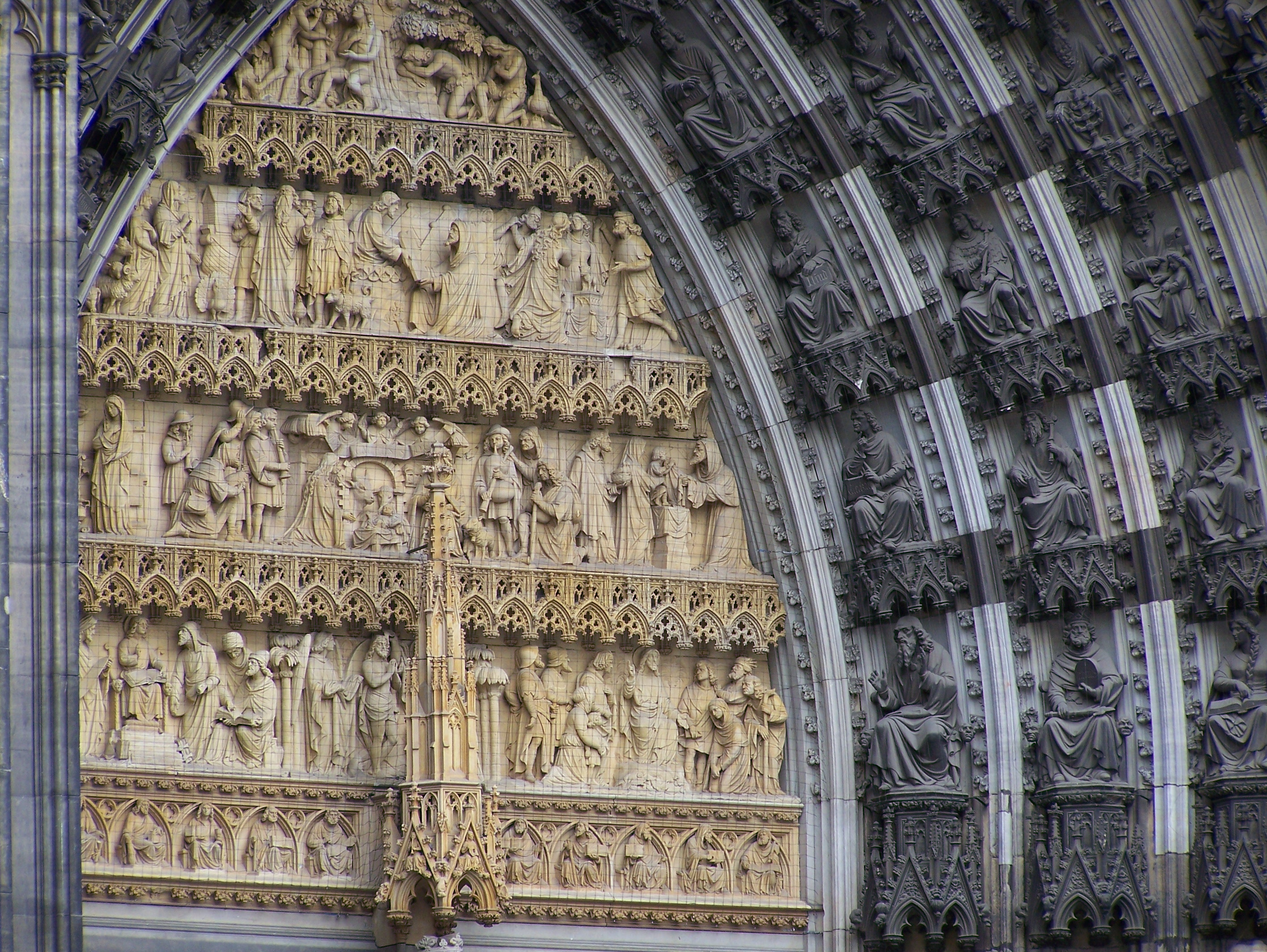 Cologne Cathedral Facade File:cologne Cathedral West
