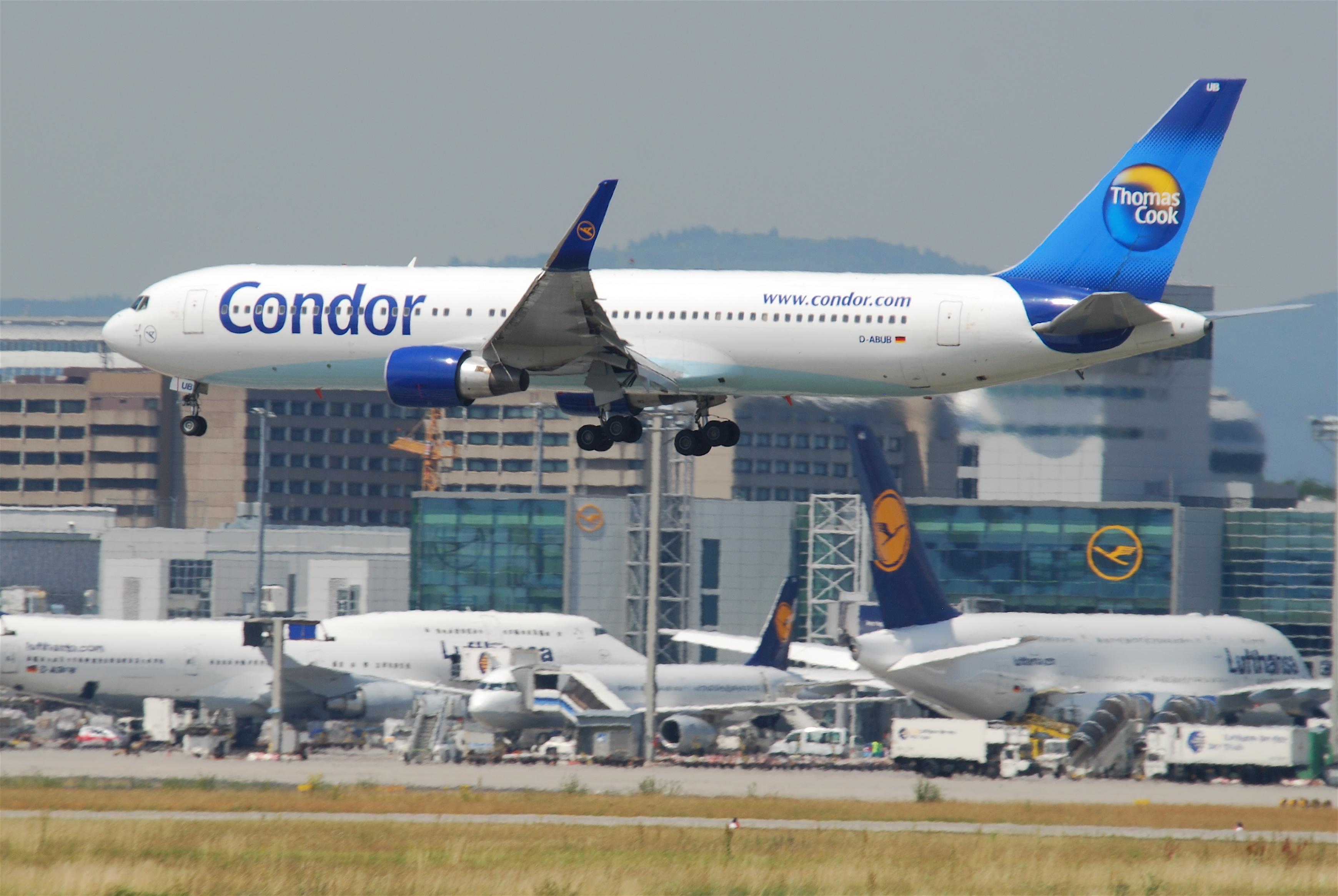 [Internacional] Condor passa a operar 2 frequências semanais no Rio de Janeiro Condor_Boeing_767-300%3B_D-ABUB@FRA%3B09.07.2010_581il_%284783415212%29